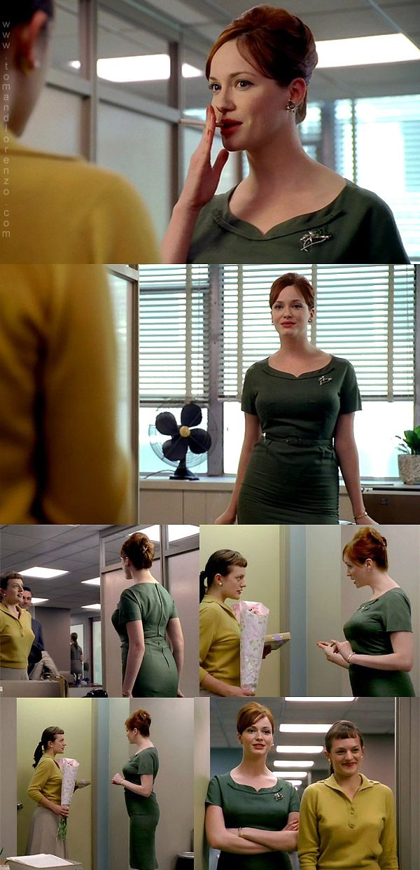 Joan Holloway - 1.01 Smoke Gets In Your Eyes
