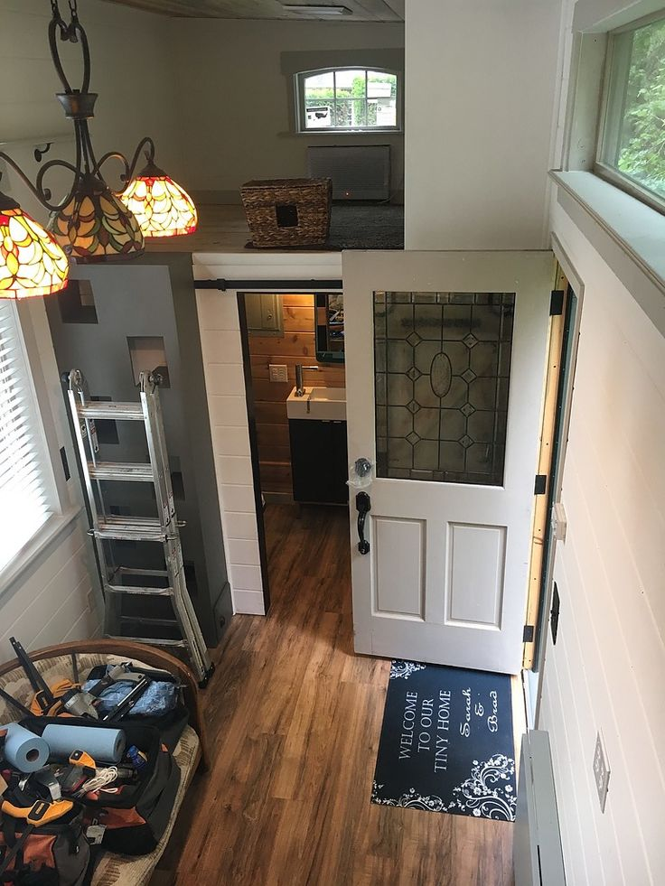 A beautiful custom tiny home available for sale in for Custom homes vancouver wa