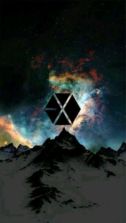 LOGO #EXO #LOGO/WALLPAPER