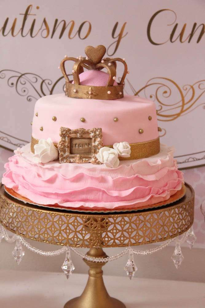 Queen, Pink and Gold Birthday Party Ideas Birthdays ...