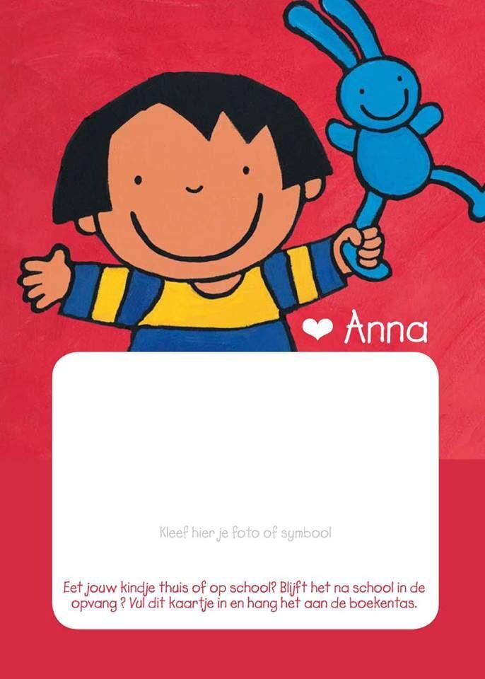 Kleurplaat Anna In De Klas Idee 235 N Over Kleurpagina S