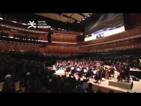 Himno Nacional Argentino   Orquesta Sinfónica Nacional y Elena Roger