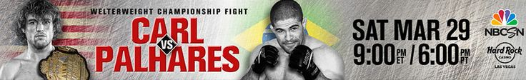 The World Series of Fighting (WSOF) is back in #Vegas with this awesome #MMA event. Don't miss it! March 29, 2014 https://ticketcake.com/event/world-series-fighting-9/las-vegas/2014-03-29