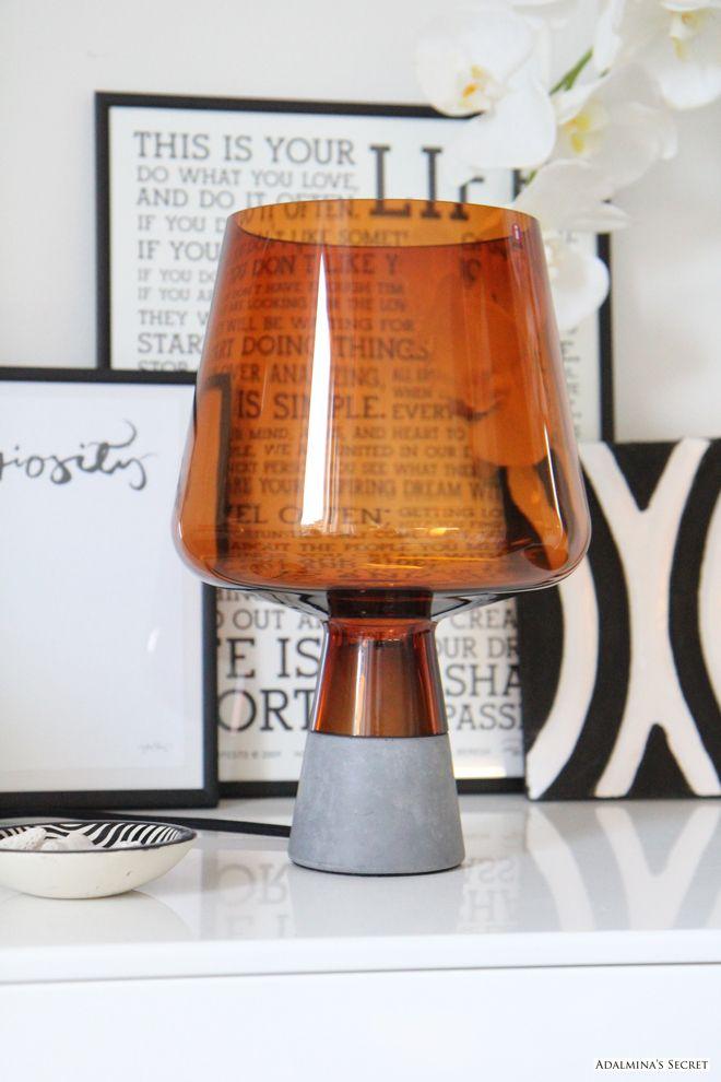Iittala Leimu lamp. Via Adalmina's Secret.