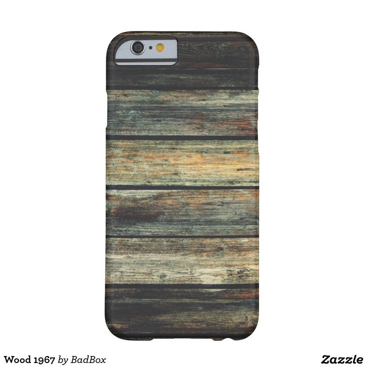 Wood 1967 barely there iPhone 6 case