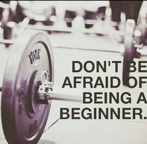 Beginner status just means you're one step closer to reaching your fitness goals. | Find more fitness tips, motivational quotes, workouts, exercises, food recipes & more at www.kuttingweight.com