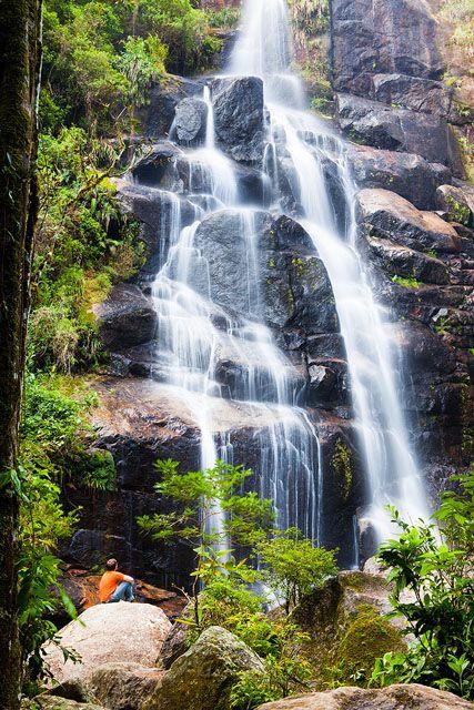 Lindas Cachoeiras do Brasil--Cachoeira Véu da Noiva - Parque Nacional de Itatiaia