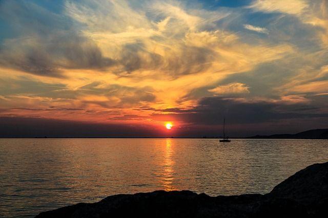 Smoke, Boat, Sun - Free Image on Pixabay