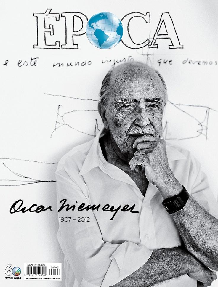 Epoca Magazine, Niemeyer cover 2012