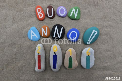 "Download the royalty-free photo ""Buon Anno 2016"" created by Ciaobucarest at the lowest price on Fotolia.com. Browse our cheap image bank online to find the perfect stock photo for your marketing projects!"
