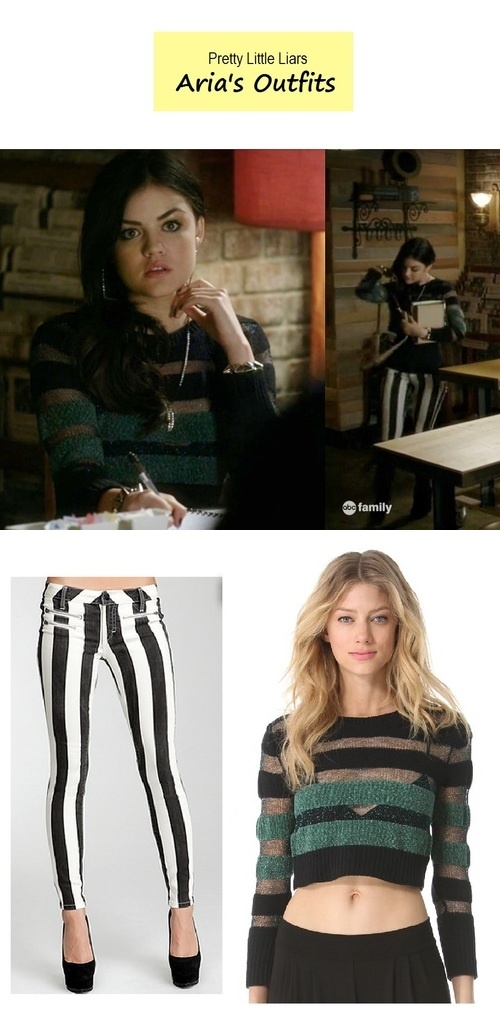 """Lucy Hale as Aria Montgomery in Pretty Little Liars - """"A is for A-l-i-v-e"""" (Ep. 401) 
