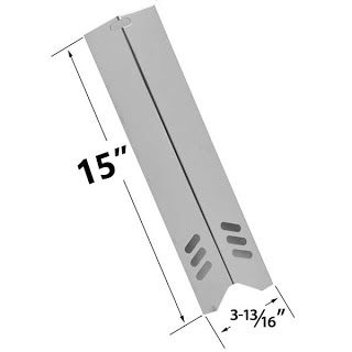 Grillpartszone- Grill Parts Store Canada - Get BBQ Parts,Grill Parts Canada: Dyna Glo Stainless Steel Heat Plate | Replacement ...