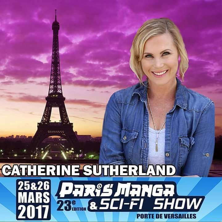 After Lexigton Convention Paris Manga is next in March. Join @catherine_sutherland on Paris.  #trentonnjpromoter #catherinesutherland #kat #pinkrangerkat #theordermovie #Beatmaticsupports #actorslife #mightymorphinpowerrangers #mmpr #powerrangerszeo #pinkranger #katherine #tv #powerrangers #turbo #mightymorphin #rangers #austrailian #powerrangersturbo #entertainment #actress #2017Unleashed #actor #paris #europe #scifi #comiccon #cosplay #europian #manga