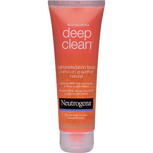 Sabonete Líquido Facial Neutrogena  Deep Clean Grapefruit 150g