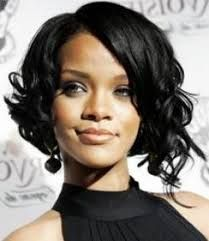 Image result for asymmetrical curly bob
