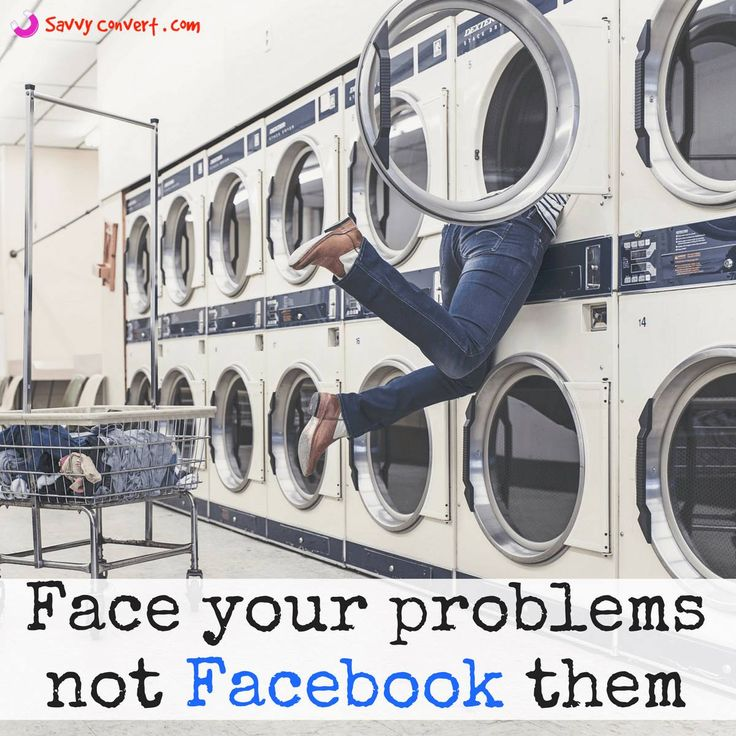 Quote 7 - Face your problems, not Facebook them. Discover more Life Quotes  #InspiringQuote #MotivationalQuote #QuoteOfTheDay