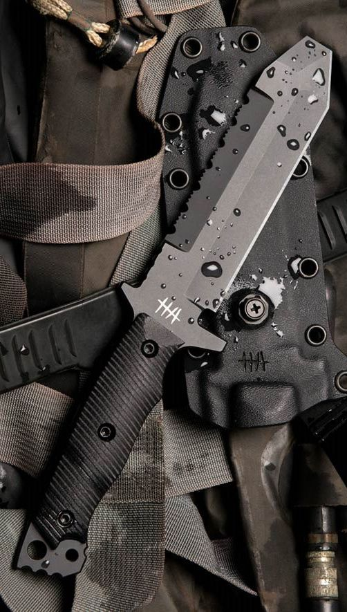 Hardcore Hardware MUK01 Mid Urban Tactical Fixed Knife Blade. Visit Pinterest @aegisgears