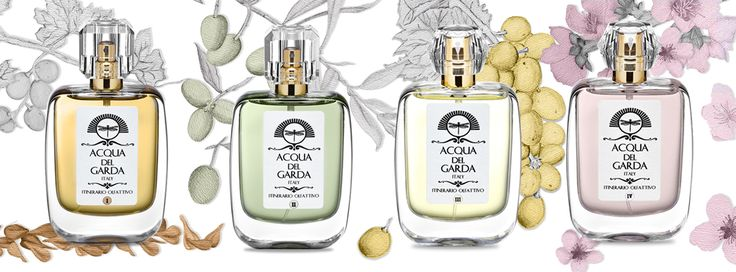 Eau de Parfum 50 ml - Itinerary I - II - III - IV - Acqua del Garda