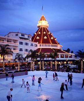 Hotel del Coronado - Ice Skating