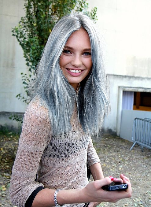 22 Grey Hairstyles That Will Inspire You To Dye Your Hair Silver This Season - all these looks can be achieved with Organic Colour Systems so contact your nearest Australian OCS salon to get the look.