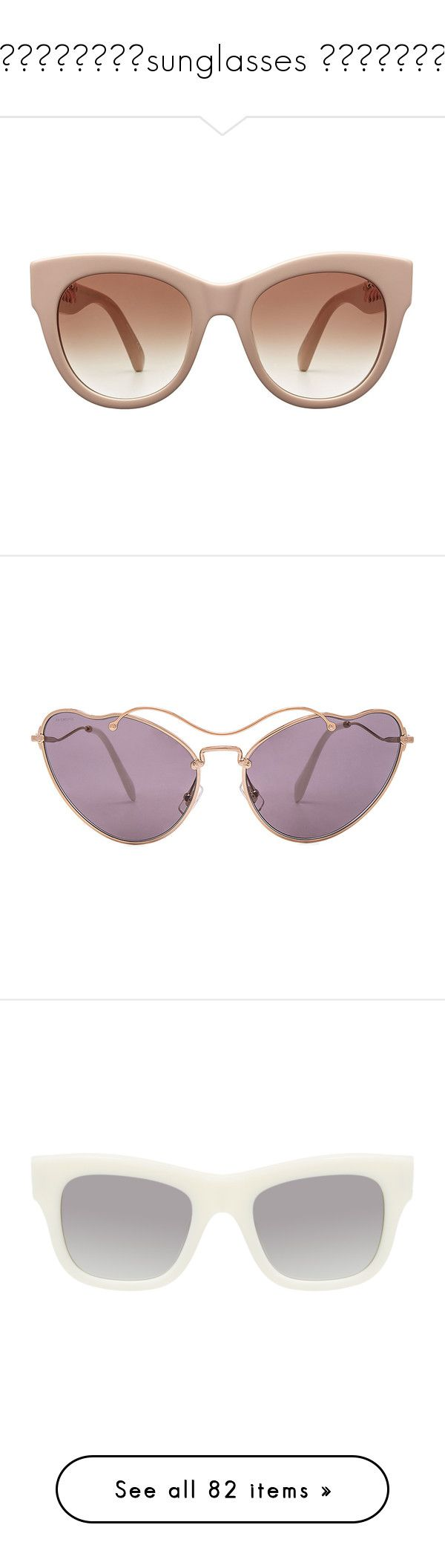 😎🤓😎🤓😎🤓😎🤓sunglasses 😎🤓😎🤓😎🤓😎 by georginalan on Polyvore featuring polyvore, women's fashion, accessories, eyewear, sunglasses, glasses, sunnies, pink, round glasses, rounded sunglasses, stella mccartney glasses, stella mccartney eyewear, rounded glasses, lens glasses, cat eye sunnies, miu miu glasses, metal frame sunglasses, miu miu sunglasses, white, stella mccartney, chain sunglasses, white glasses, uv protection glasses, acetate sunglasses, black, celine sunnies, plastic…