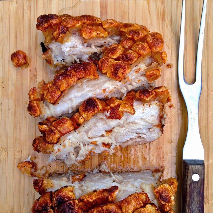 JULES FOOD...: Crispy Skin Bone-in Pork Belly by Bill Granger