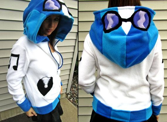 I found 'Vinyl Scratch / DJ Pon-3 FLEECE My Little Pony Hoodie / Sweatshirt' on Wish, check it out!