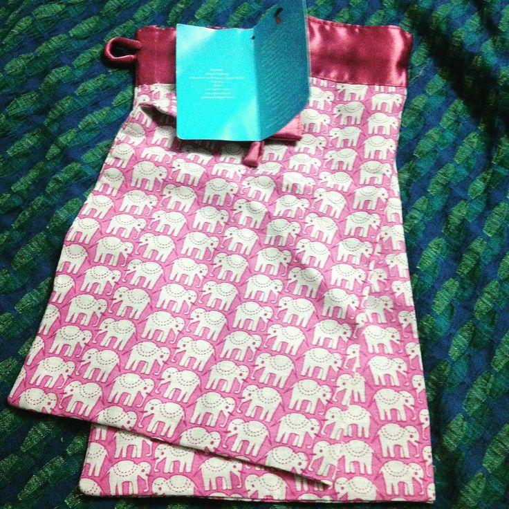 Fabric, block printed silk