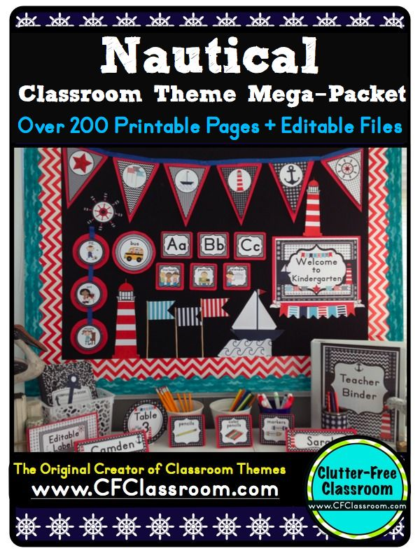 cubby name tag ideas | ... : Nautical / Sailing Themed Classroom {Ideas, Photos, Tips, and More