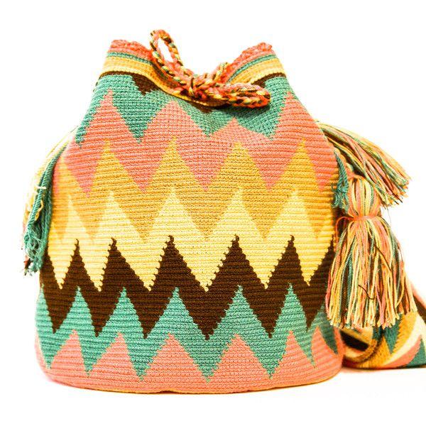 Wayuu Boho Bags with Crochet Patterns - zum selber nachmachen?