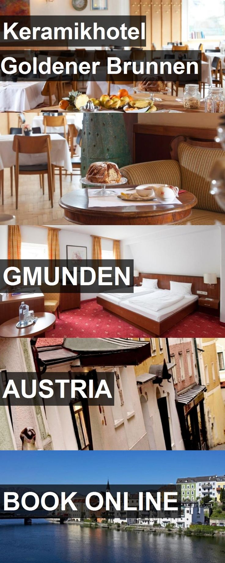 Hotel Keramikhotel Goldener Brunnen in Gmunden, Austria. For more information, photos, reviews and best prices please follow the link. #Austria #Gmunden #hotel #travel #vacation