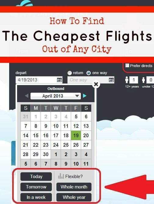 How to Find a Cheap Flight to Any Destination | The Barefoot Nomad b Travel Tips #travel #traveltips