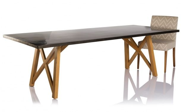 Coco Republic Manhattan Dining Table - Zinc, would like to have a look at this table.