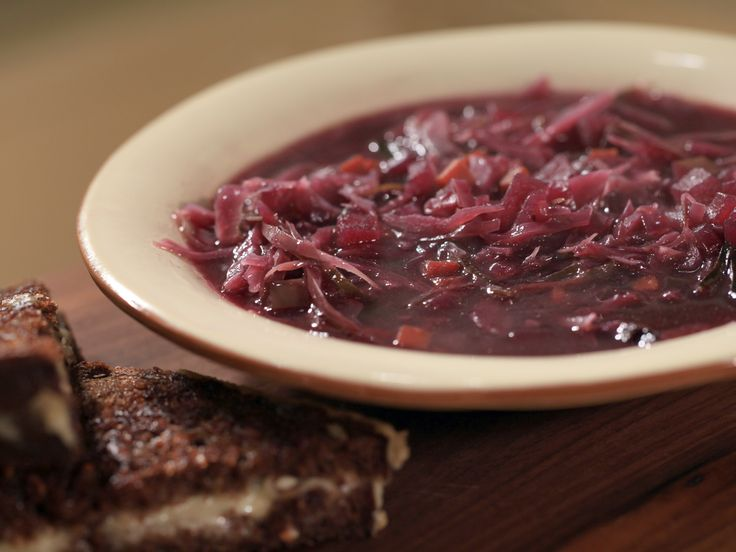 German-Style Sweet and Sour Red Cabbage Soup Recipe : Rachael Ray : Food Network - FoodNetwork.com