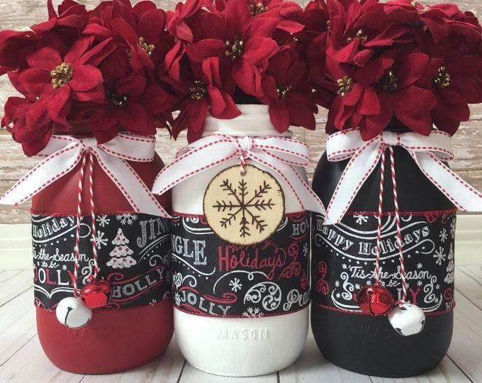 Best 25+ Christmas Mason Jars Ideas On Pinterest
