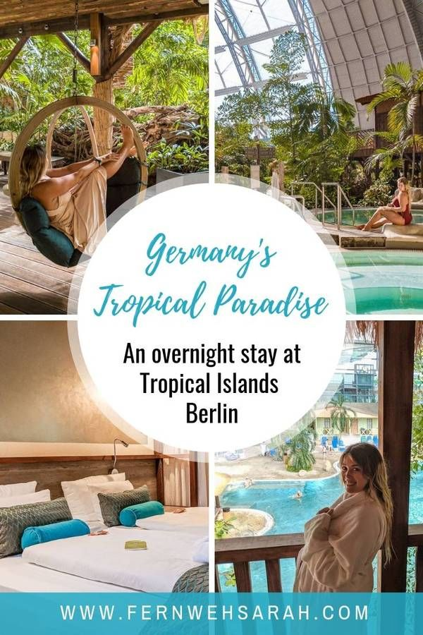 Tropical Islands Berlin – from the capital to the tropics in 60 minutes