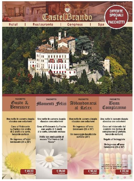 Did you check our #hotel packages? Which one would you choose? #specialoffers #castelbrando #castle #castello