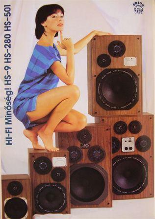 ORION hangfalcsalád, jó teherbírással és kivillanó combokkal a 80-as évekből.
