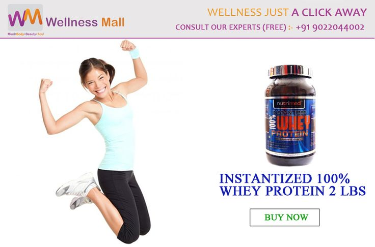 Get Instantized 100% Whey Protein 2 LBS -‎Wellness Mall‬ Visit http://goo.gl/PnfneY Tel : 9022044002 Price : ₹2,480.00 Sold by: Nutrimed Healthcare SKU: c7a3747d1007. Category: Supplements