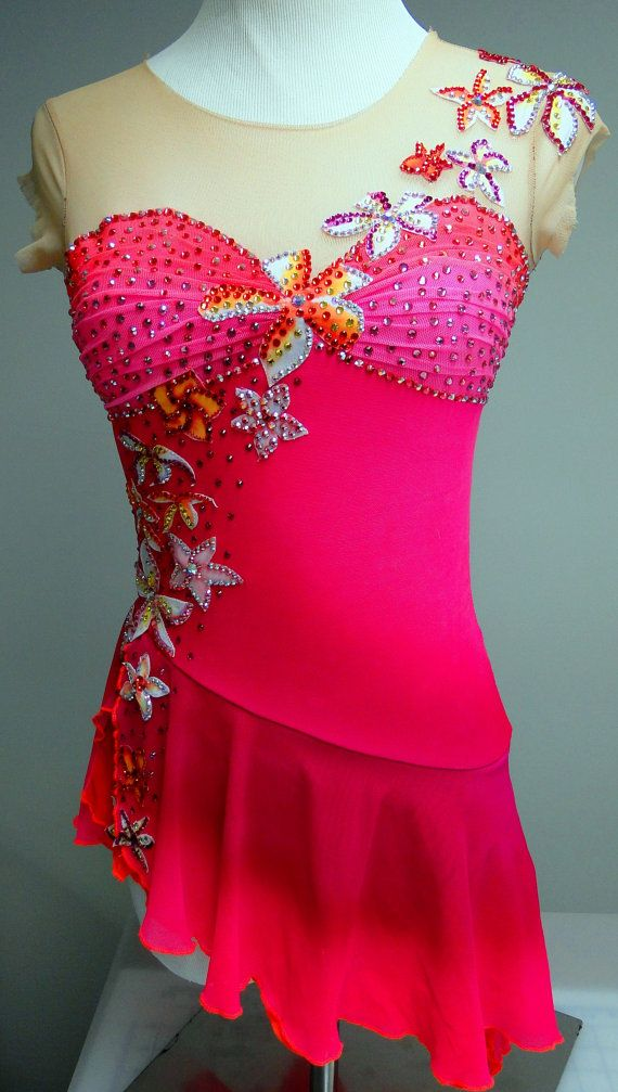 Custom Figure Skating Competition Dress / Ice by Sk8Gr8Designs
