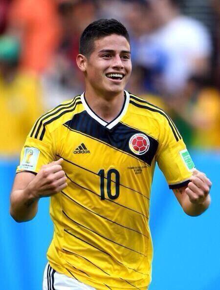 """El gol de James Rodríguez ante Costa de Marfil puso toda una nación a soñar: «2014 FIFA Copa Mundo Brasil, """"todos en un mismo ritmo""""» [jueves, 19 de junio de 2014]."""