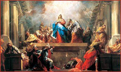 leggoerifletto: Invocazione allo Spirito Santo - San Simone (Pente...