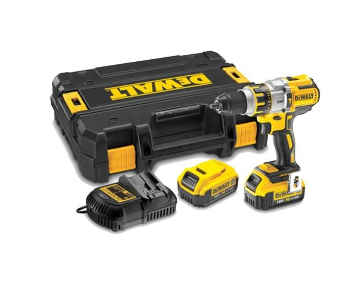 Dewalt DCD995M2-XE 18v Cordless Brushless Hammer Drill Kit :- Dewalt built high power, high efficiency brushless motor 650 Watts max power for superior drilling & fastening applications performance-delivers up to 57% more run time over brushed XR.