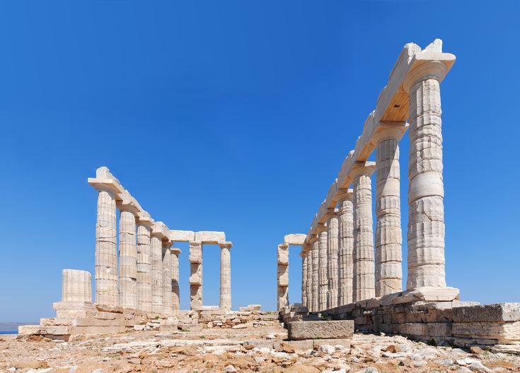 #CapeSounio #Greece