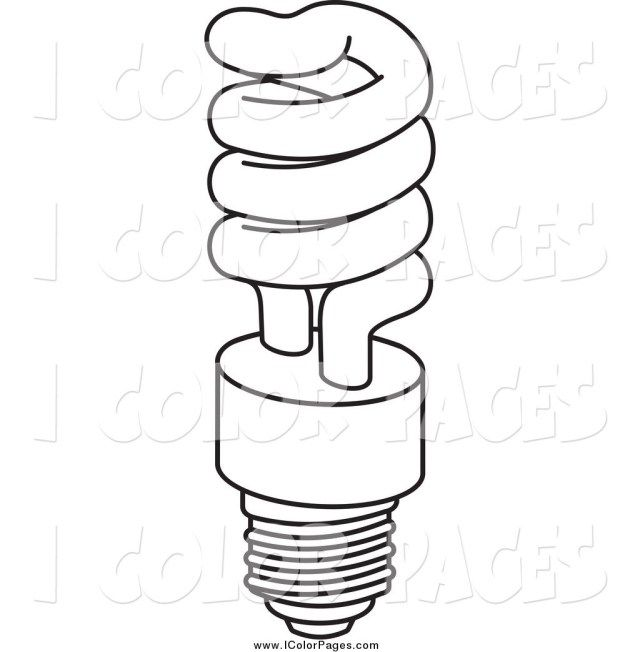 Excellent Image Of Light Bulb Coloring Page Christmas Coloring