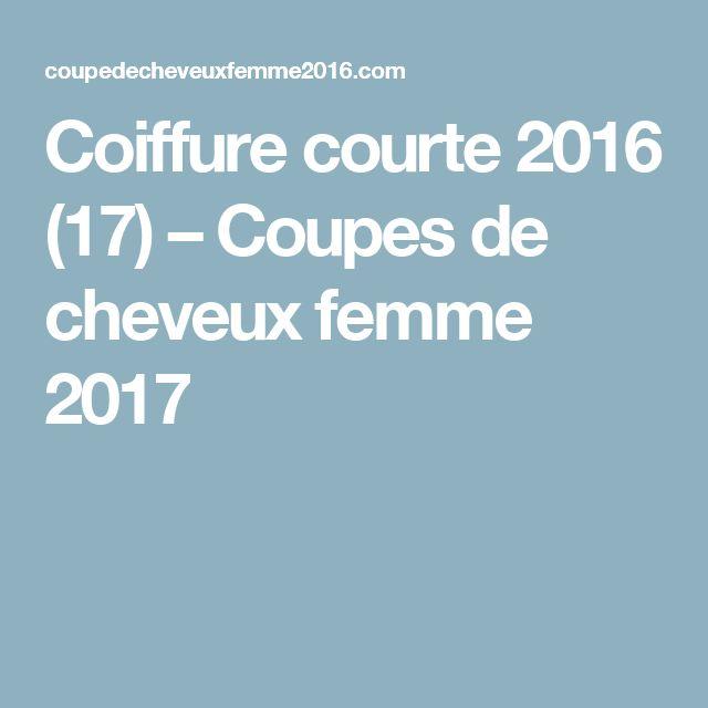 Coiffure courte 2016 (17) – Coupes de cheveux femme 2017
