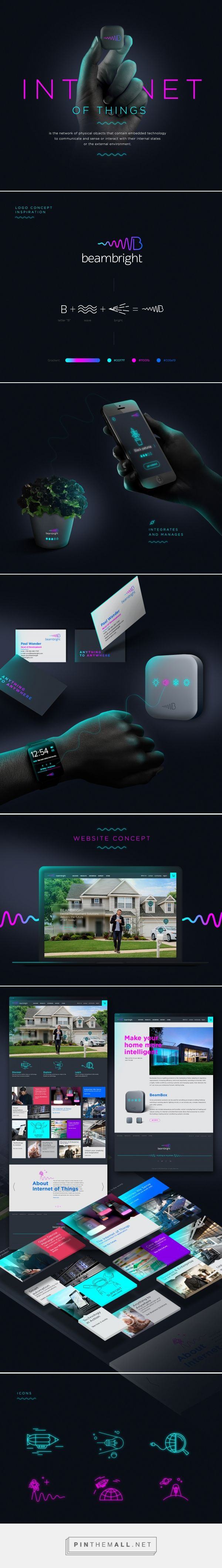 Beambright | Internet of Things on Behance... - a grouped images picture - Pin Them All