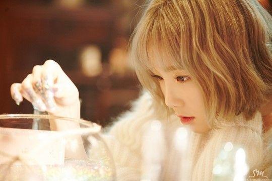 Taeyeon for 'Rain' MV