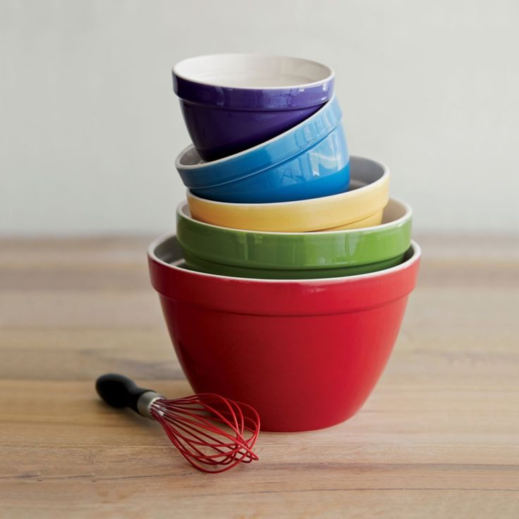 Pin by isabella diaz on products i love pinterest for Sur la table mixing bowls