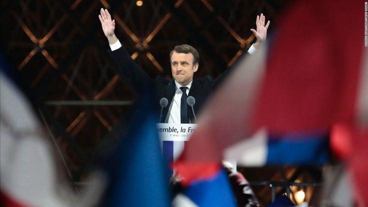 Vive Le France!   France: Macron eyes legislative elections after landslide win - CNN.com